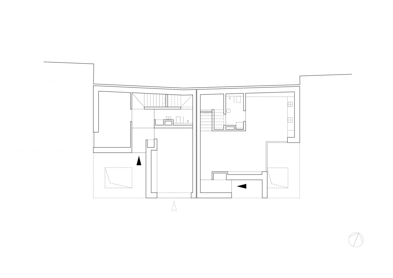 Ground Floor Plan - Buildings A & B